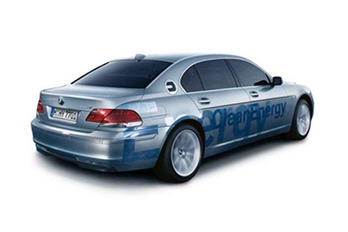 Alternate Fuel BMW Hydrogen 7