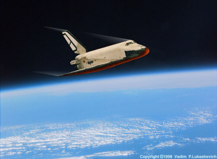space shuttle re entry heat - photo #22