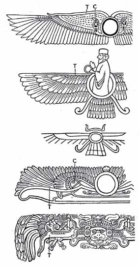 Egyptian Anunnaki Connection Winged Flying Craft Or Angels