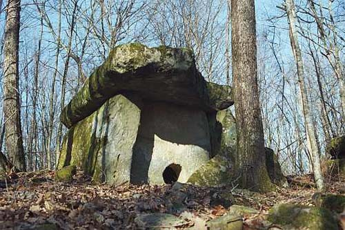Caucasian Dolmens. The history of people.  48