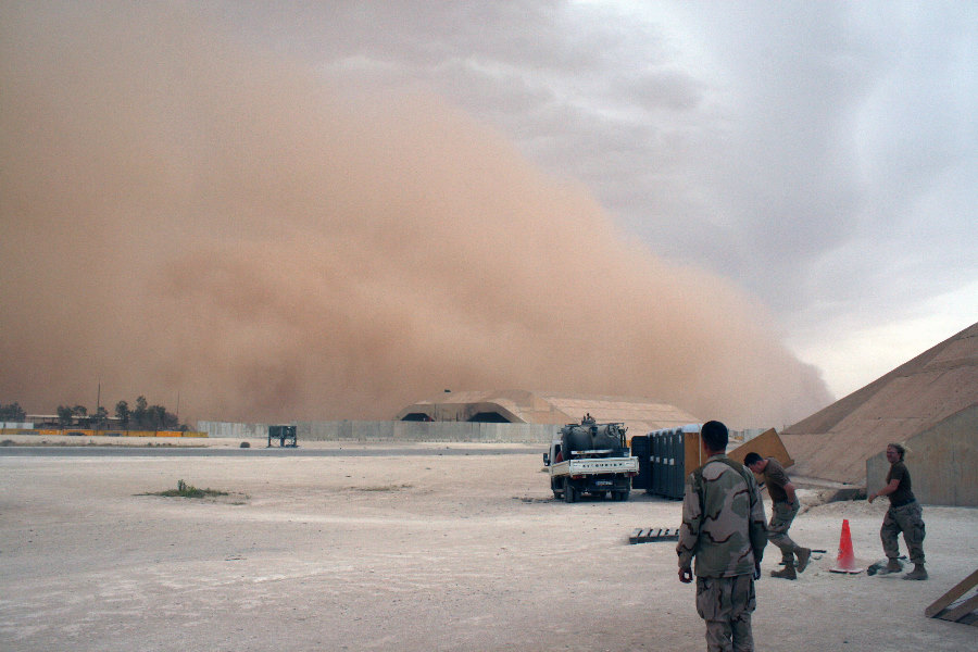 6. In Broad Daylight this Sandstorm, an