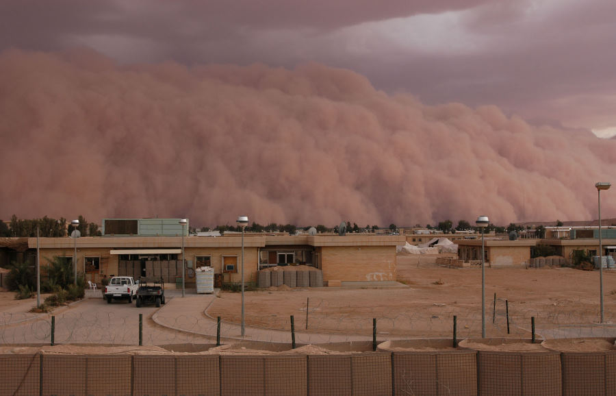 7. A Spectacular and Ominous View of an