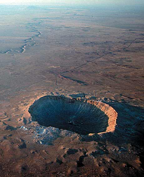 Meteor Crater, AZ- The...