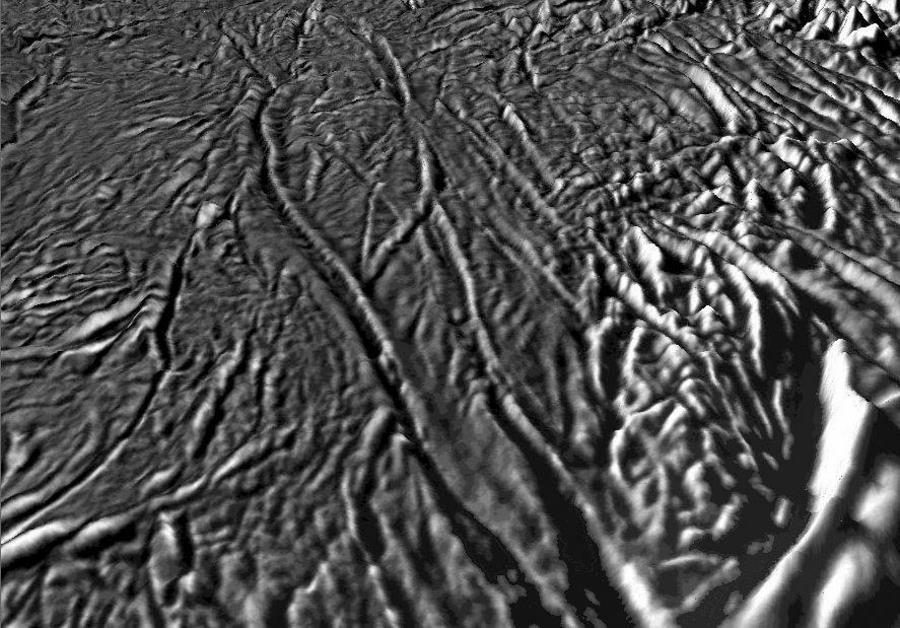 Enceladus Moon Surface Enceladus Moon of Saturn