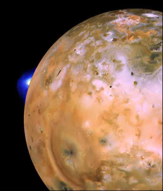 Hellfire and Brimstone - Io, Moon of Jupiter, page 1