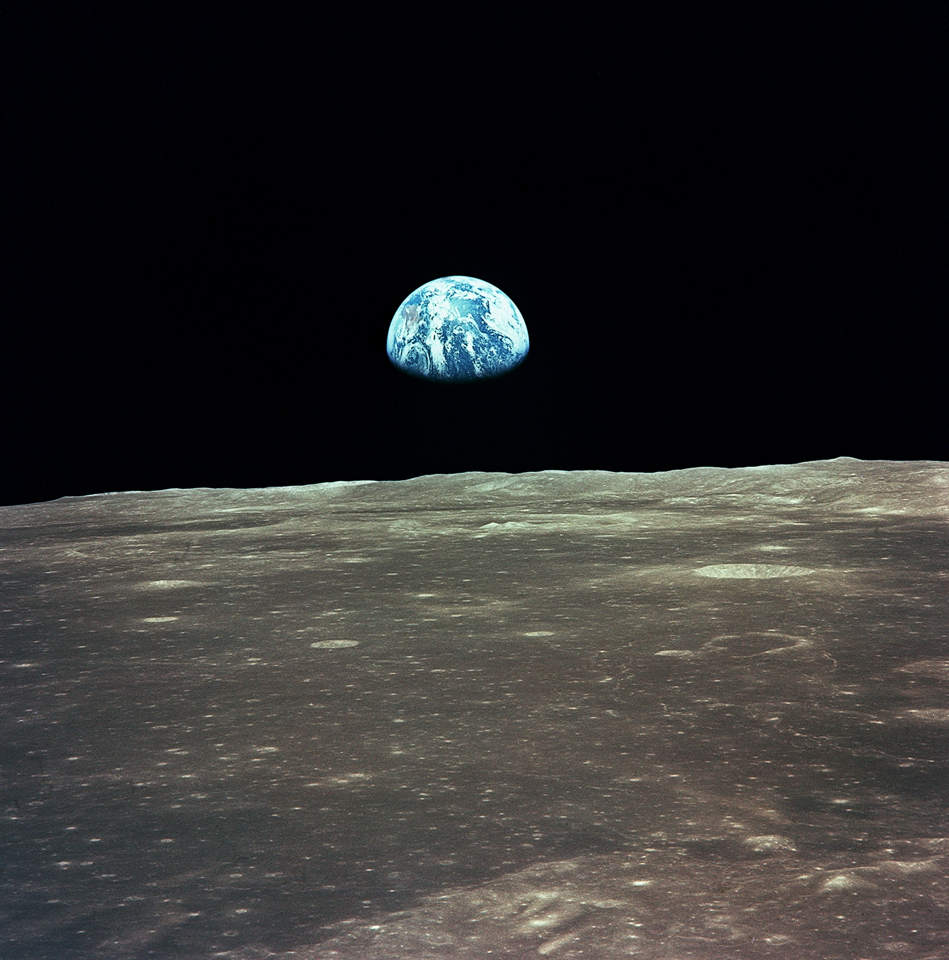 earth from the moon high resolution - photo #11