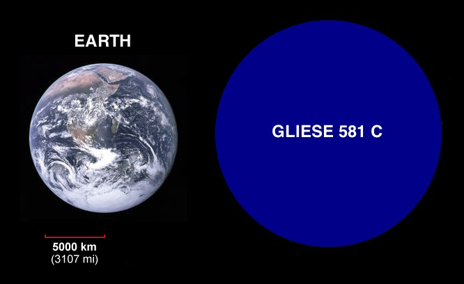 gliese 581 location relative to earth - photo #4