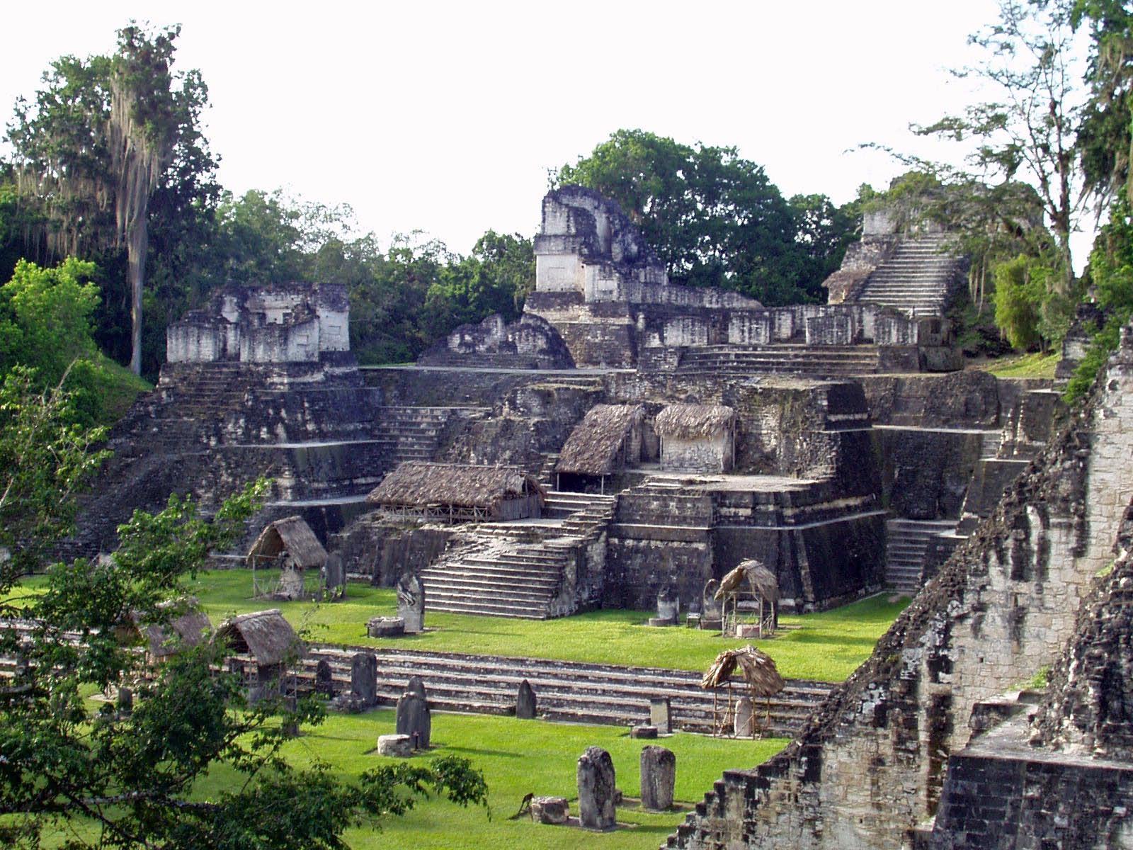 Ruinas mayas Guatemala
