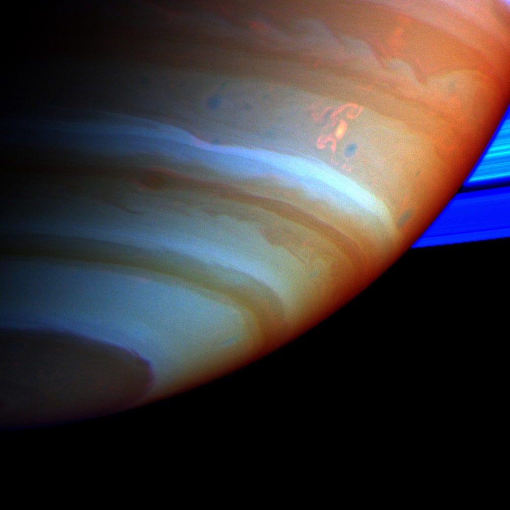 Strongest Lightning Storm on Record Strikes Saturn