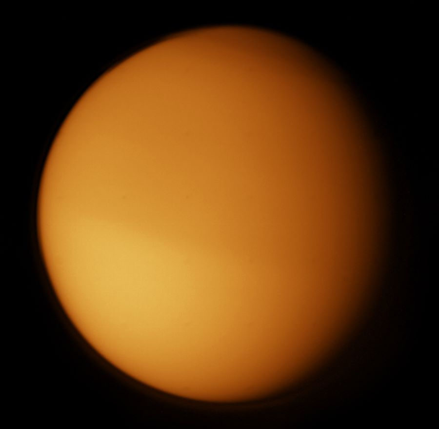 titan the saturn s largest moon A rapid cooling of titan's southern hemisphere in 2012 is unique in the solar system, and occurred because of the moon's exotic atmos.