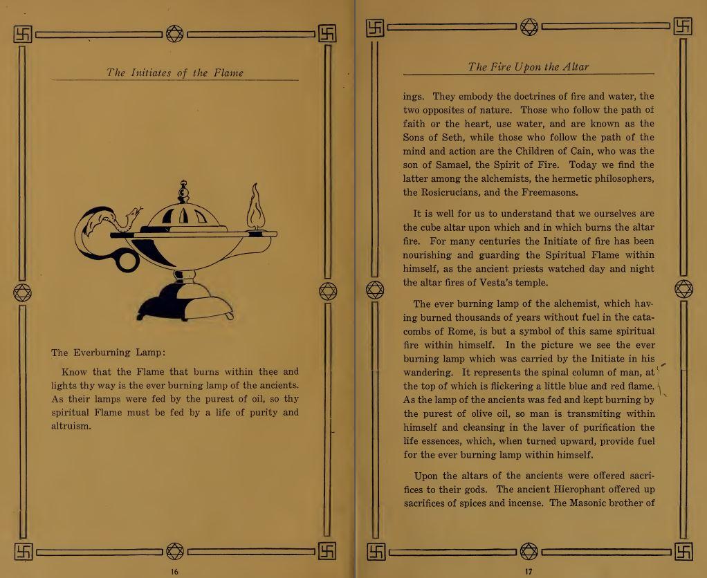 Ever Burning Lamps - Rosicrucian