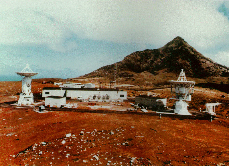 ECHELON US Naval Computer And Telecommunications Station Far East - Ascension island google map