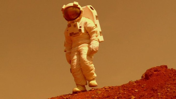 man on planet mars - photo #20
