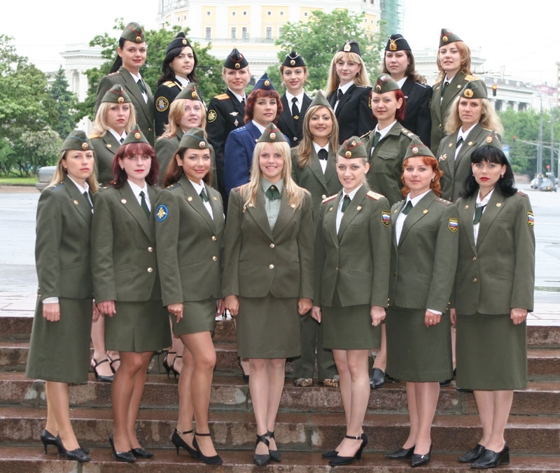 Russian Military Women Army Uniform