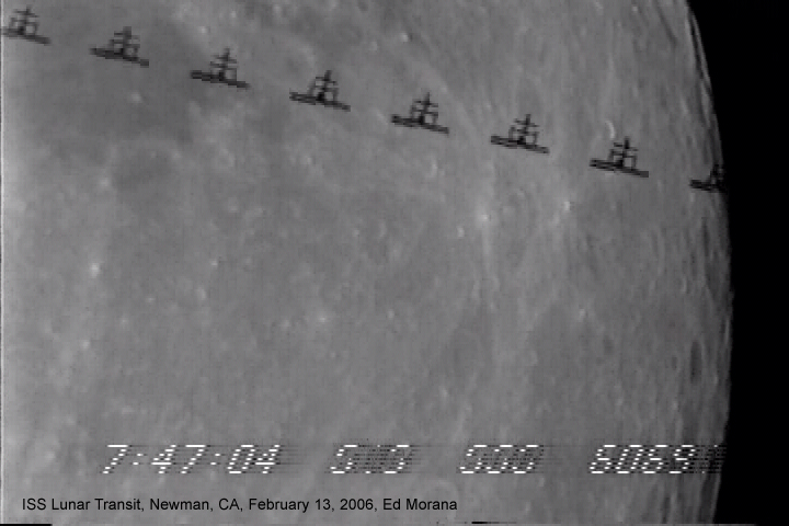space station lunar transit - photo #31