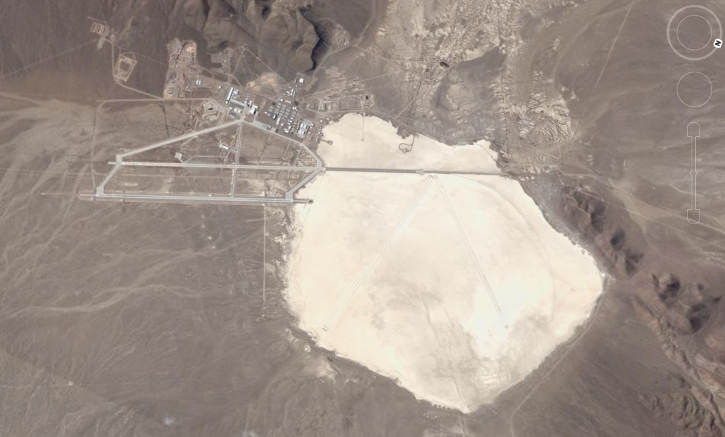 Area 51 Groom Lake Facility Nevada USA