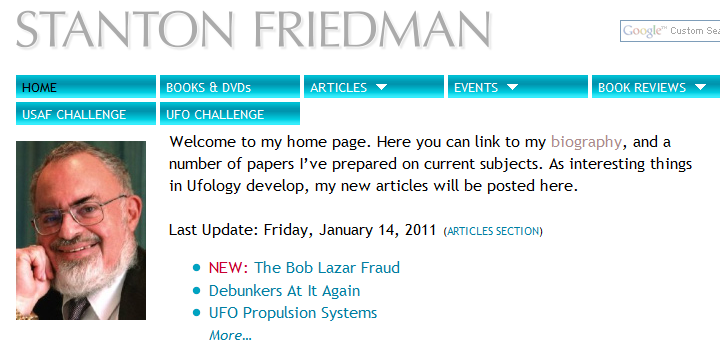 Bob Lazar and Element 115, page 25