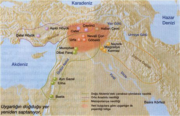 TURKEY: Gobekli Tepe - Ancient Temple in Turkey on middle east map, stonehenge map, baalbek map, garden of eden map, rome map, istanbul map, cappadocia map, easter island map, ur map, fertile crescent map, babylon map, troy map, night sky map, turkey map, samaria map, catalhoyuk map, teotihuacan map, angkor wat map, ancient civilizations map, puma punku map,
