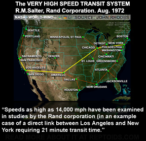 Image result for RAND rapid transport system nuclear tunnel boring machines